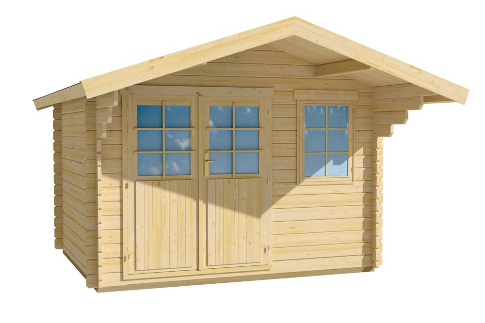 abri de jardin classique 7m2 spacieux mais compact. Black Bedroom Furniture Sets. Home Design Ideas