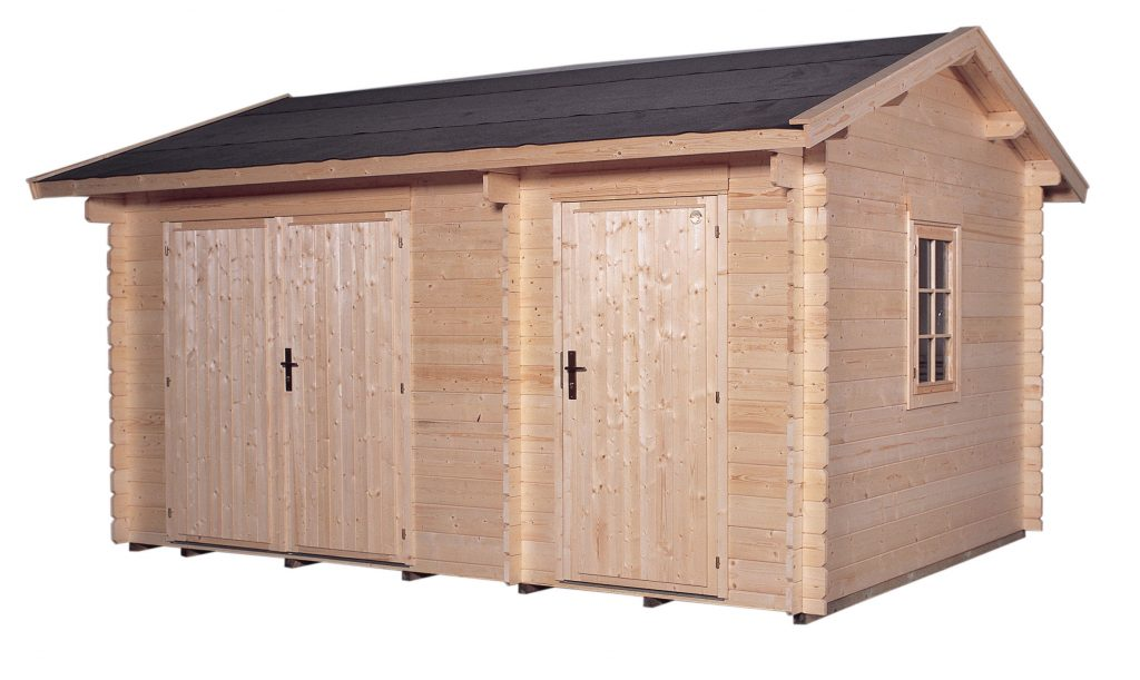 Abri de jardin en bois lillevilla 12 tiina de 12m2 28mm - Abri de jardin 10m2 ...