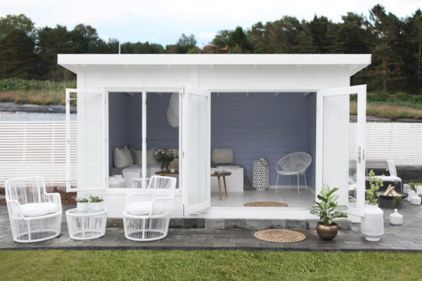 abri de jardin lillevilla 387 blanc luoman