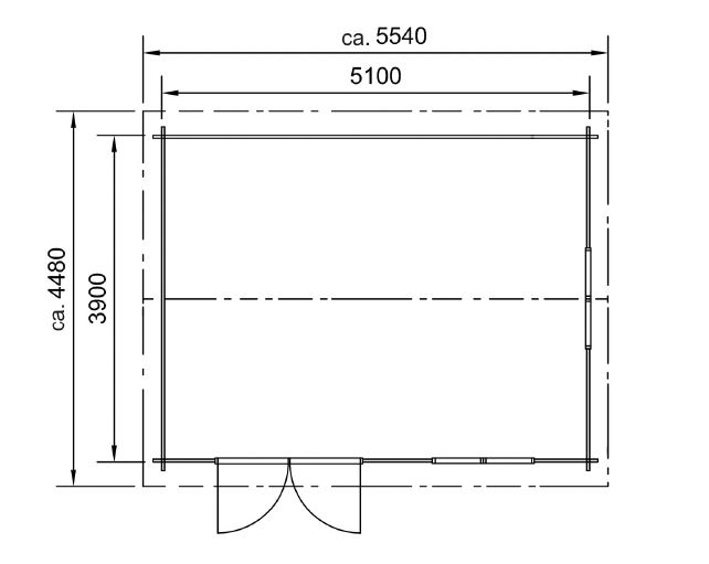 plan abri de jardin lillevilla 85-1